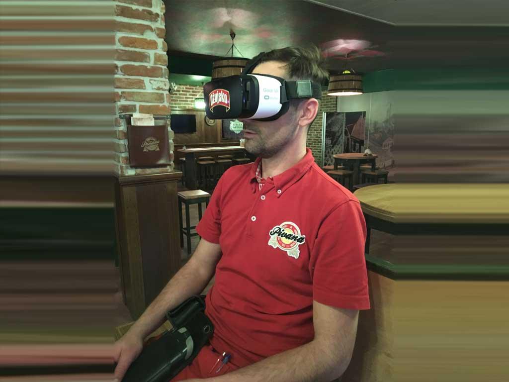 Brendiranje VR opreme - Ožujsko - Pivana Zagreb