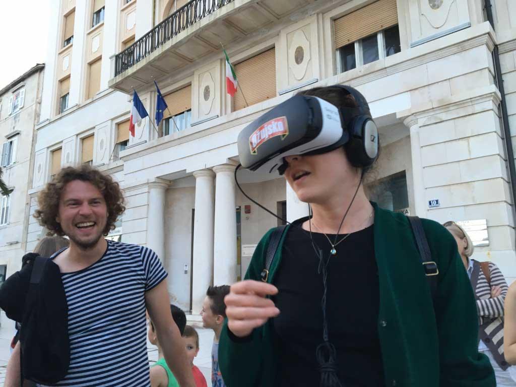 Brendiranje VR opreme - Ožujsko - Split 2016
