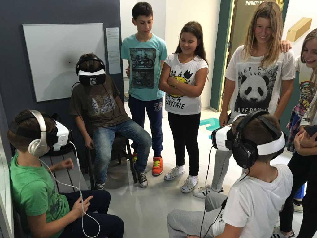 VR edukacija i tehnička podrška - Muzej iluzija 2017