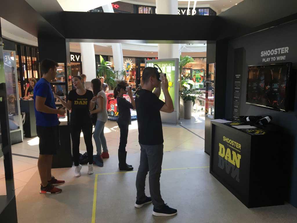 Shooster dan - Tehnička podrška i vođenje VR programa - Arena centar 2017