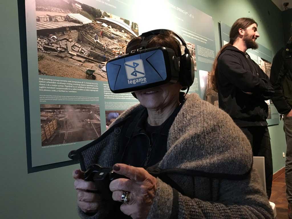Promocija i izrada VR sadržaja za potrebe Arheološkog muzeja u Zagrebu - 2015