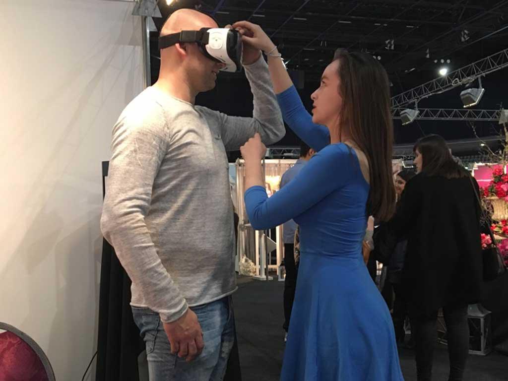 Promocija 360 video vjenčanja u VR-u - Sajam vjenčanja 2017