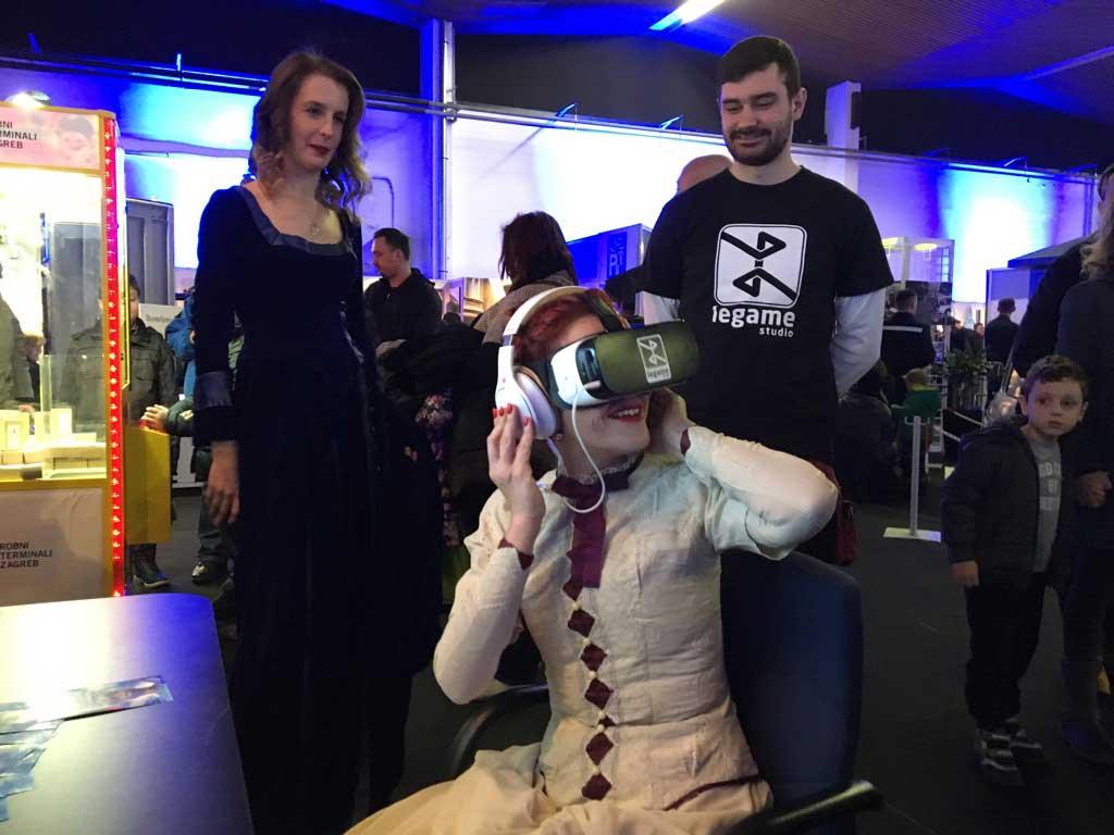 VR promocija 360 video VR filma izrađenog za potrebe Zagrebačkog holdinga - Noć muzeja 2017