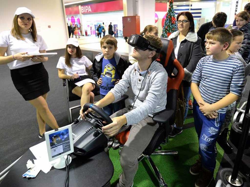 VR simulator vožnje - Lumini centar - Varždin