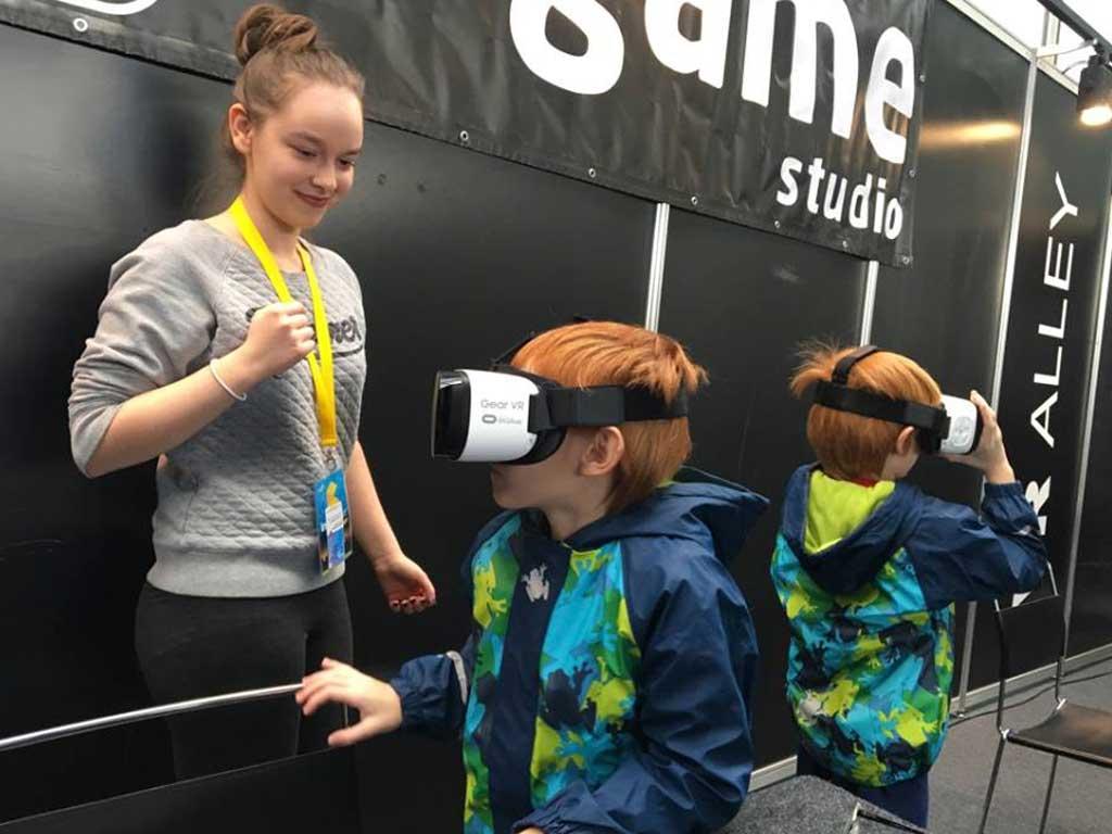 VR promocija - Infogamer 2016 - Zagrebački velesajam