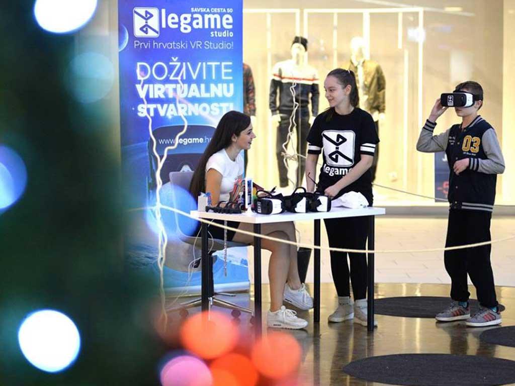 Održavanje VR eventa u sklopu Dana Gaminga u Lumini centru u Varaždinu