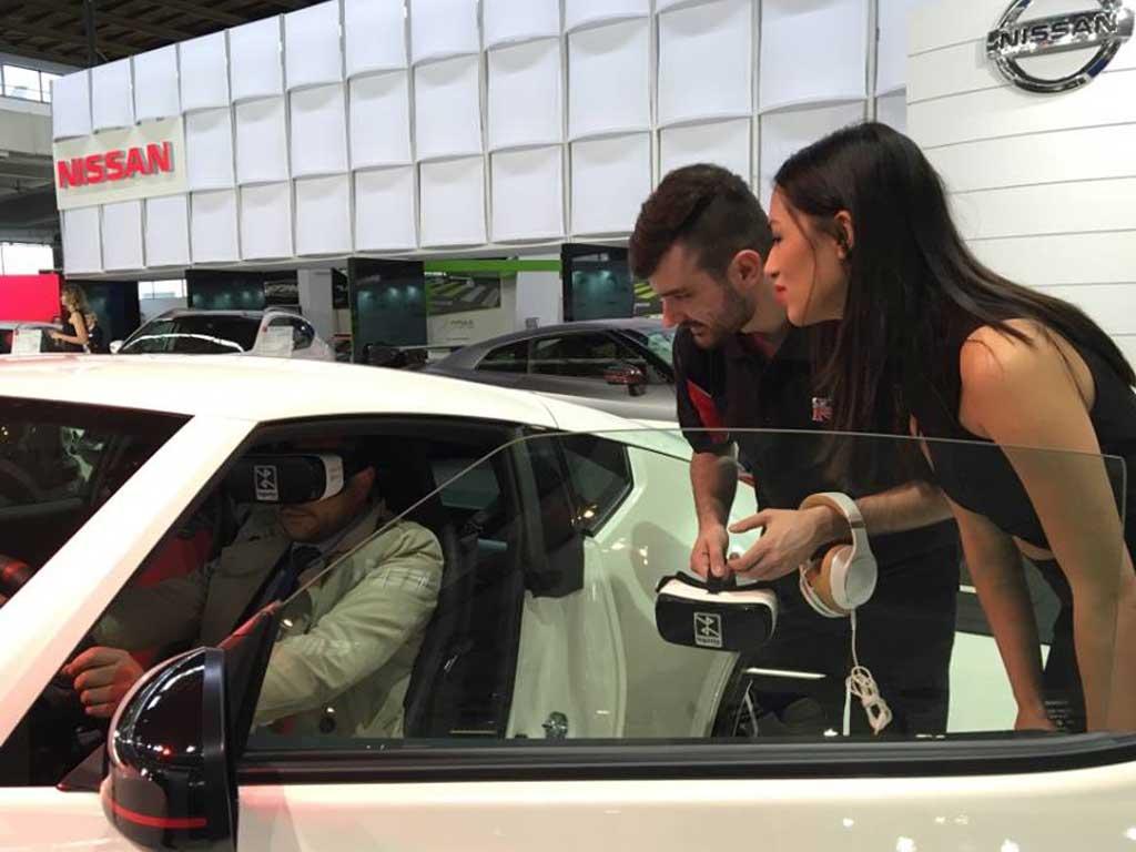 Brendiranje VR opreme - Nissan - Autoshow 2016 - Zagreb