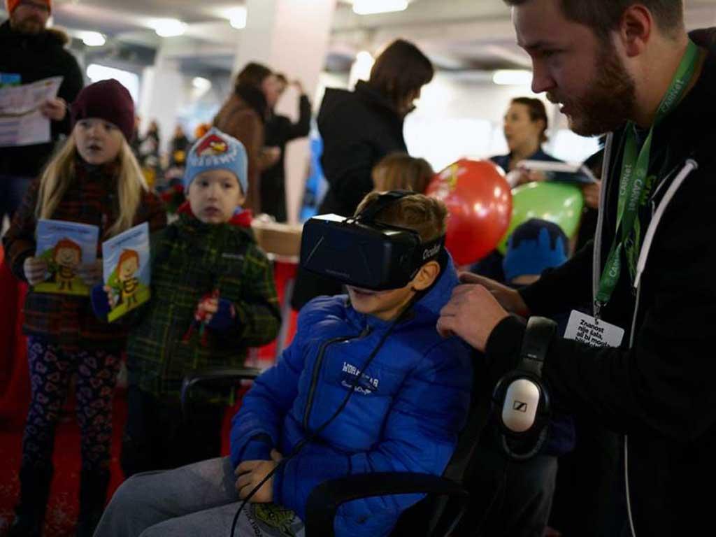 Edukacija kroz VR sadržaj u sklopu Znanstvenog piknika - Zagreb 2016